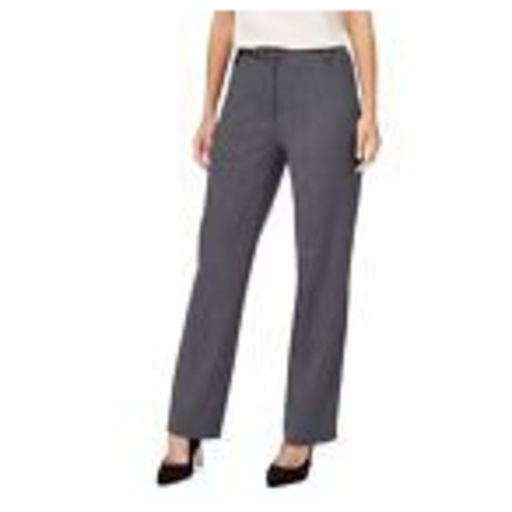 The Collection Womens Grey Textured Straight Leg Suit Trousers From Debenhams