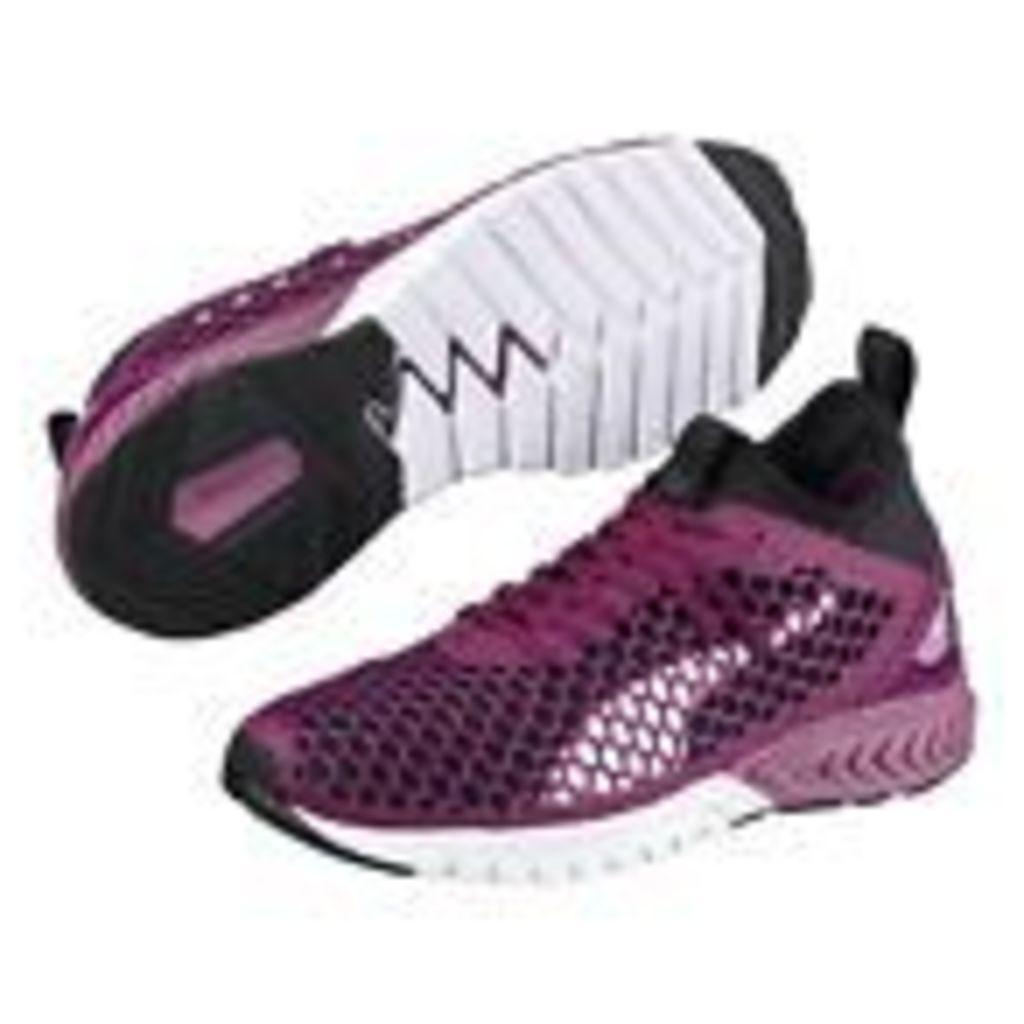 Puma Womens Dark Purple Ignite Dual Netfit Wns Trainers From Debenhams