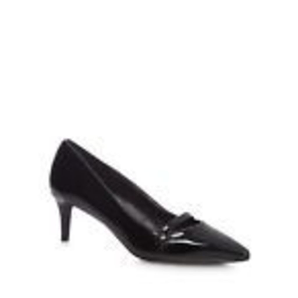 The Collection Womens Black 'Citten' Mid Kitten Heel Court Shoes From Debenhams