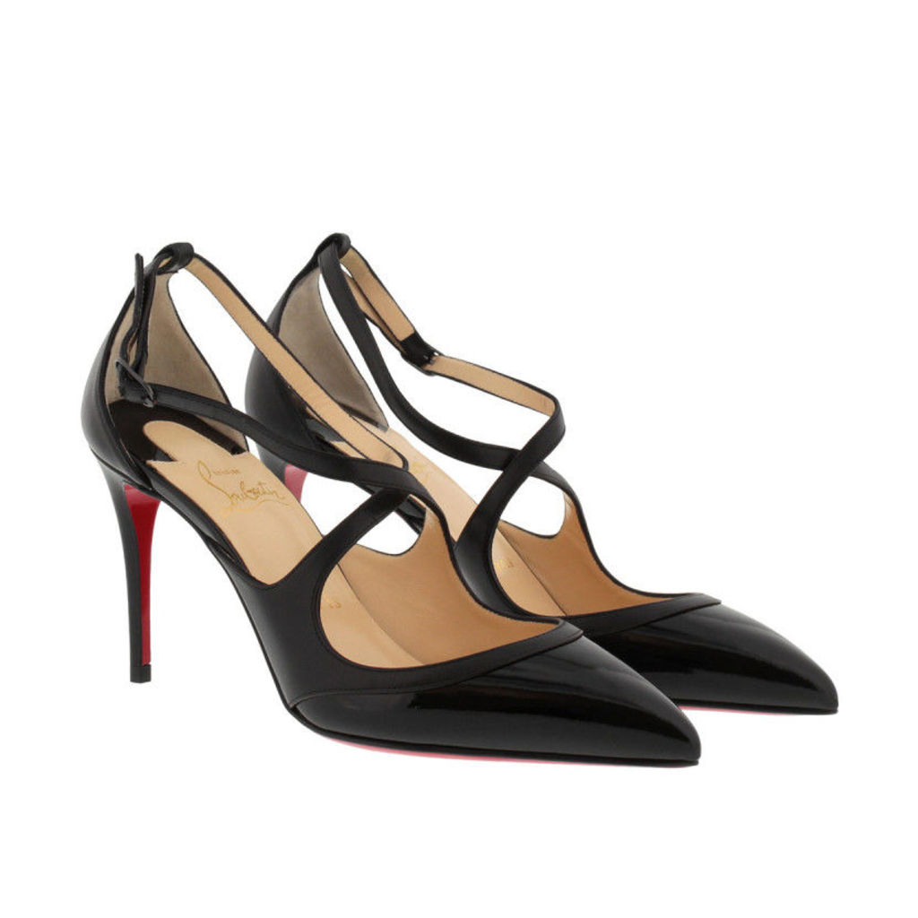 Christian Louboutin Pumps - Crissos 85 Pumps Nappa Leather Nero/Nero - in black - Pumps for ladies