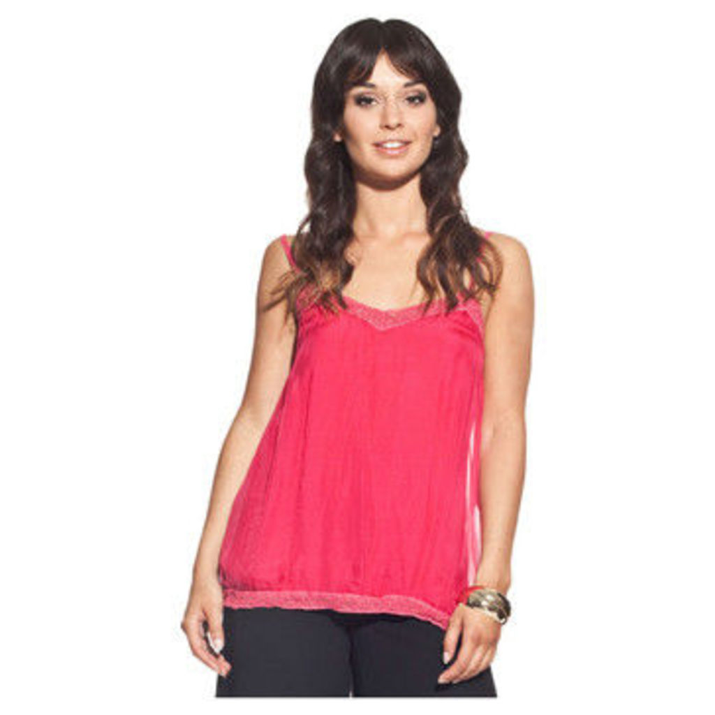 Laura Moretti  Top PASSY  women's Blouse in Pink
