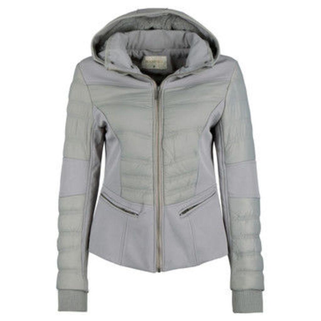 Roosevelt  Anorak 90400039  women's Jacket in Grey