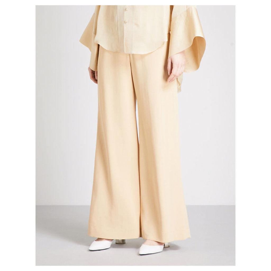 Obi flared trousers