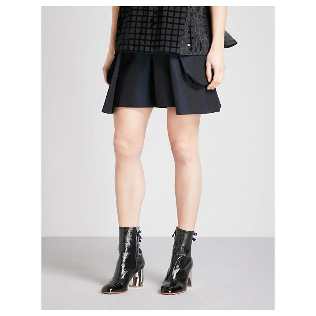 Pocket-detailed cotton-twill shorts