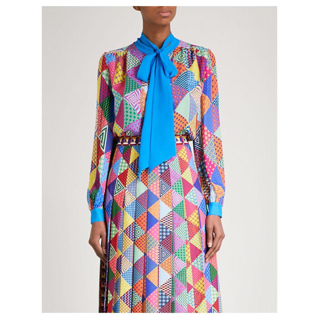 Veddar silk blouse