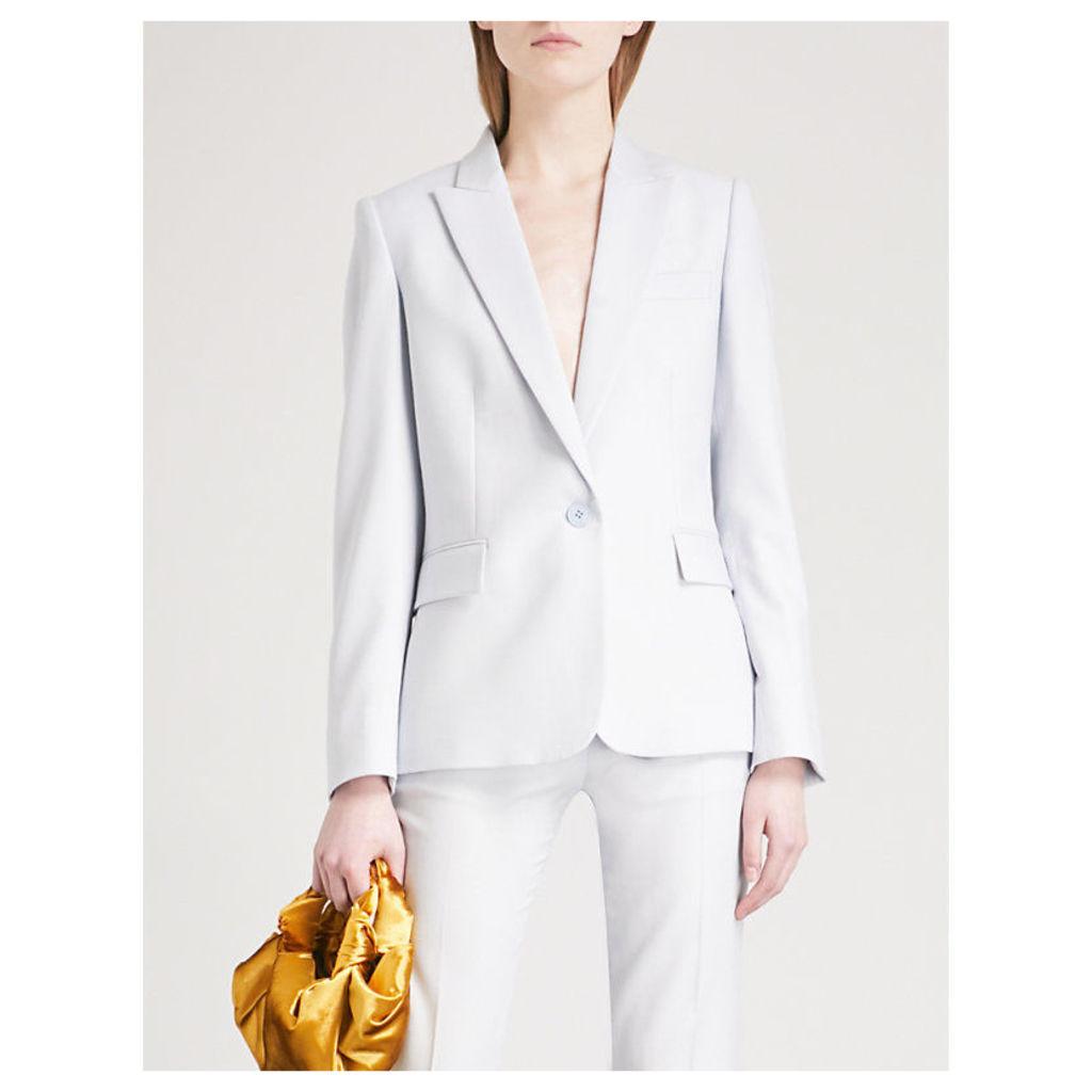Ingrid single-breasted wool jacket