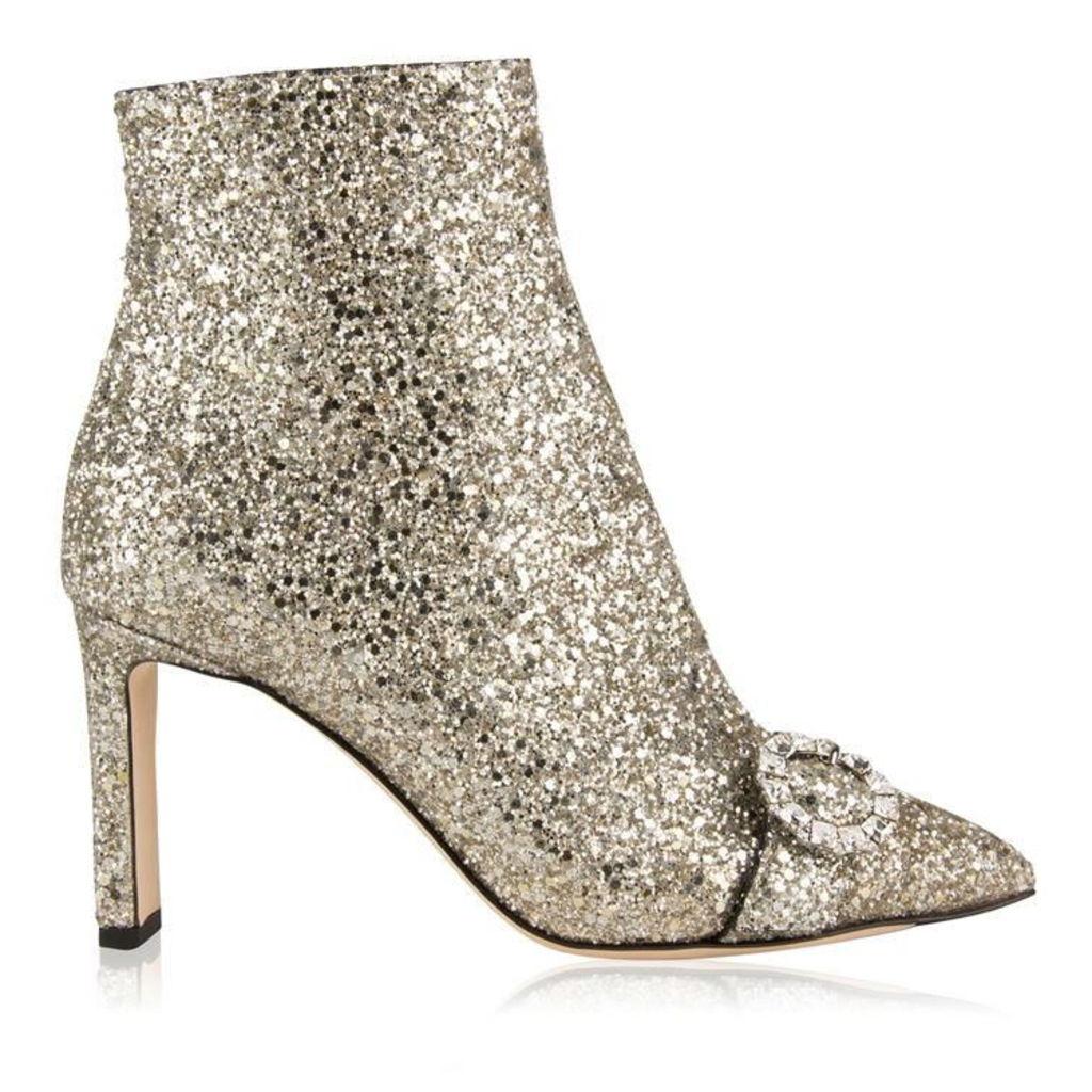 JIMMY CHOO Hanover Glitter Boots
