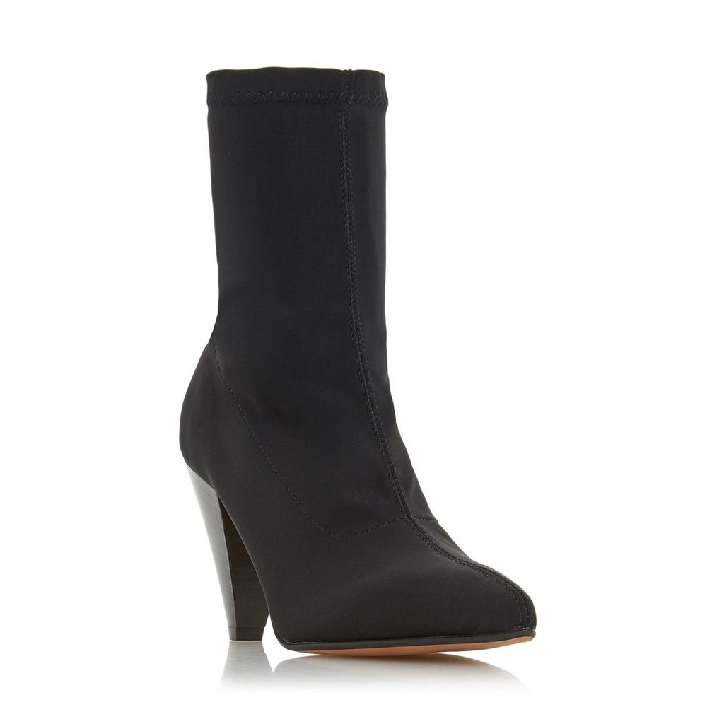 Ralley Cone Heel Ankle Boot