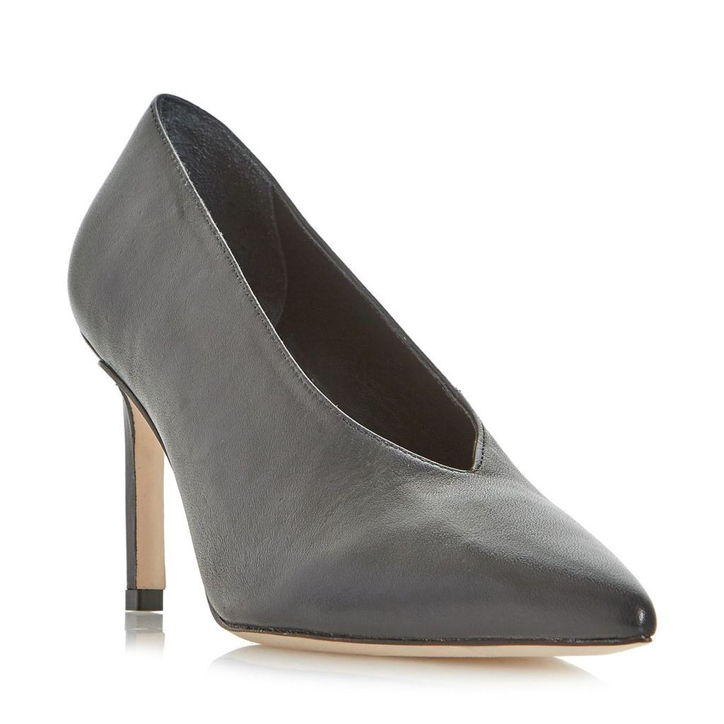 Amigos V-Cut High Vamp Pointed Toe Court Shoe