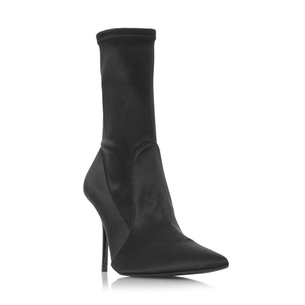 Ovela Pointed Toe Sock Ankle Boot