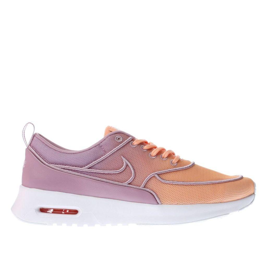 nike orange air max thea ultra trainers