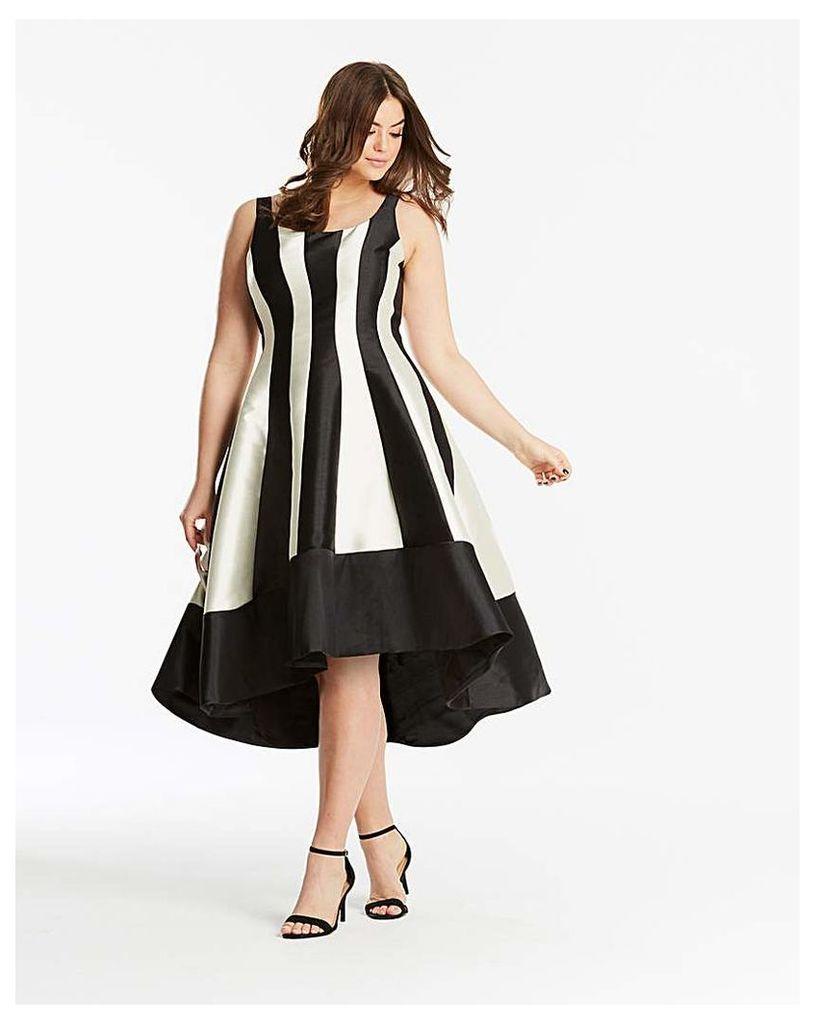Coast Aria Mono Dramatic Dress