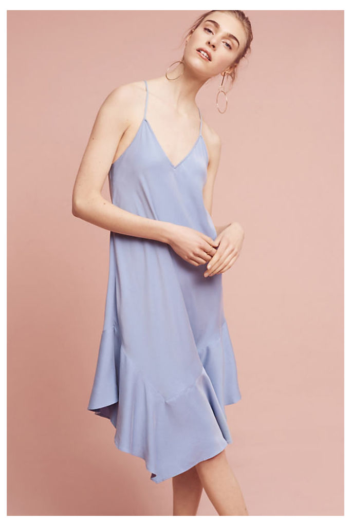Jill Slip Dress, Blue - Sky, Size S