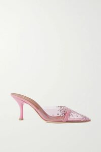 The Elder Statesman - Cropped Ribbed Cashmere Sweater - Red