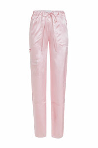 Marques' Almeida Multi-Pocket Silk Pants