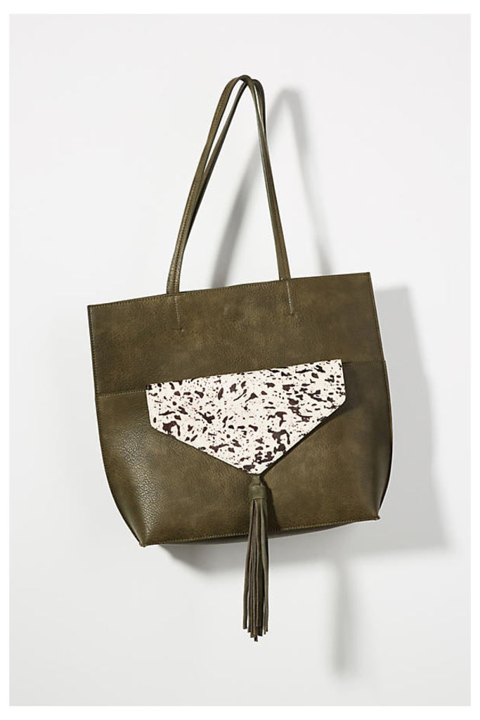 Thoma Clutch & Tote Bag - Moss