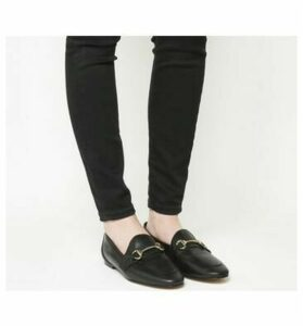 Office Destiny Trim Loafer BLACK LEATHER