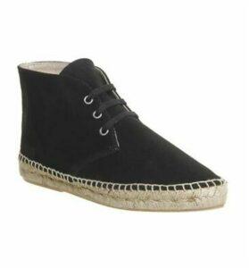 Solillas Espadrille Boot BLACK SUEDE