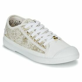 Le Temps des Cerises  BASIC 02  women's Shoes (Trainers) in Gold