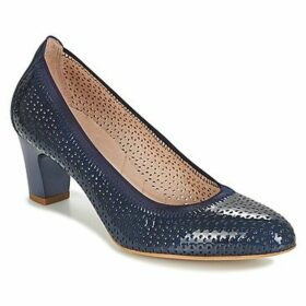 Hispanitas  ANDROS  women's Court Shoes in Blue