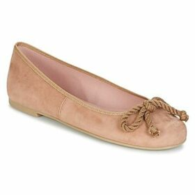 Pretty Ballerinas  ANGELIS  women's Shoes (Pumps / Ballerinas) in Beige
