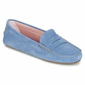 Pretty Ballerinas  MICROTINA  women's Loafers / Casual Shoes in Blue