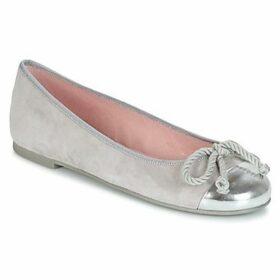 Pretty Ballerinas  ESPEQUIO  women's Shoes (Pumps / Ballerinas) in Silver