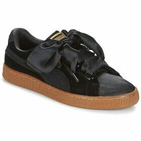 Puma  BASKET HEART VS W'N  women's Shoes (Trainers) in Black