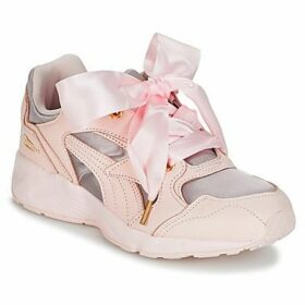Puma  PREVAIL HEART SATIN  women's Shoes (Trainers) in Pink