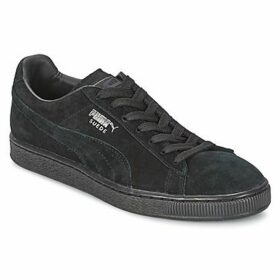 Puma  SUEDE CLASSIC  women's Shoes (Trainers) in Black