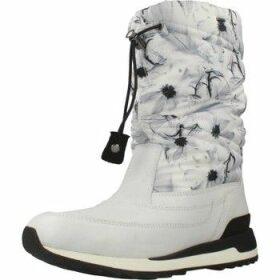 Geox  D ANEKO B ABX  women's Snow boots in White