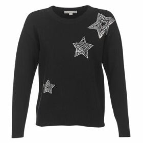 MICHAEL Michael Kors  STAR SWTR EU  women's Sweater in Black