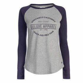 SoulCal Raglan Vintage T Shirt