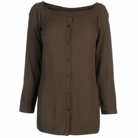 Firetrap Blackseal Bardot Top - Khaki