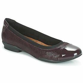 Clarks  NEENAH GARDEN  women's Shoes (Pumps / Ballerinas) in Purple