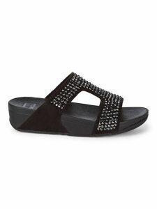 Glitzie Slide Sandals