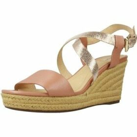Geox  D SOLEIL  women's Espadrilles / Casual Shoes in Gold