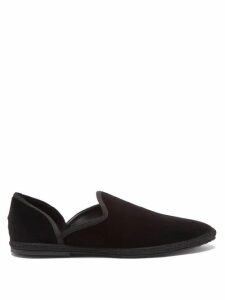 Daft - Pantelleria Embroidered Linen Kaftan Dress - Womens - Red Multi