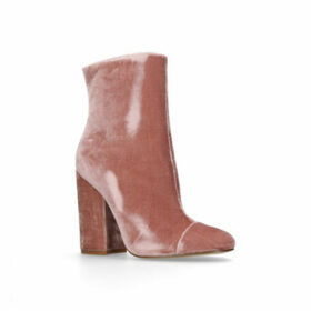 Womens Kaden Ank Boot Ankle Boots Kendall & Kylie Pale Pink Block Heeled Ankle Boot, 6.5 UK