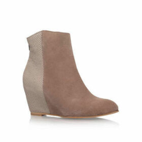 Womens Grey Suede Ankle Bootsh By Hudson, 7 UK