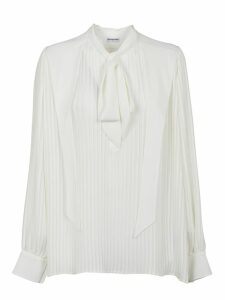 Balenciaga Pleated Blouse