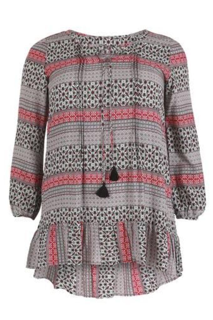 Plus Size Kaftan Style Dress