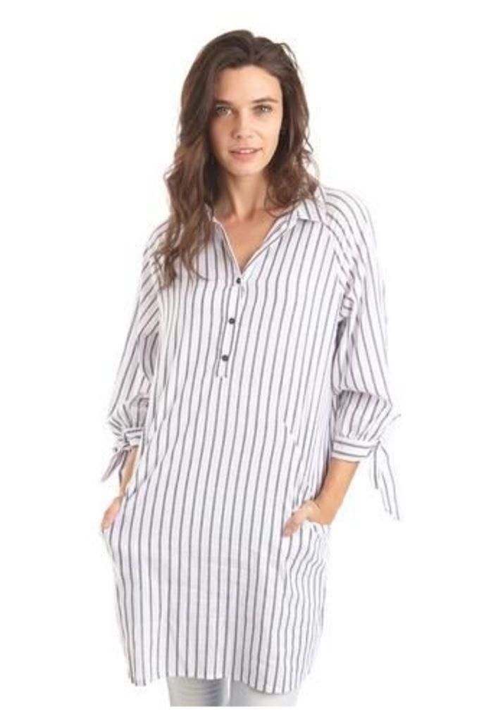 Striped Shirt Top
