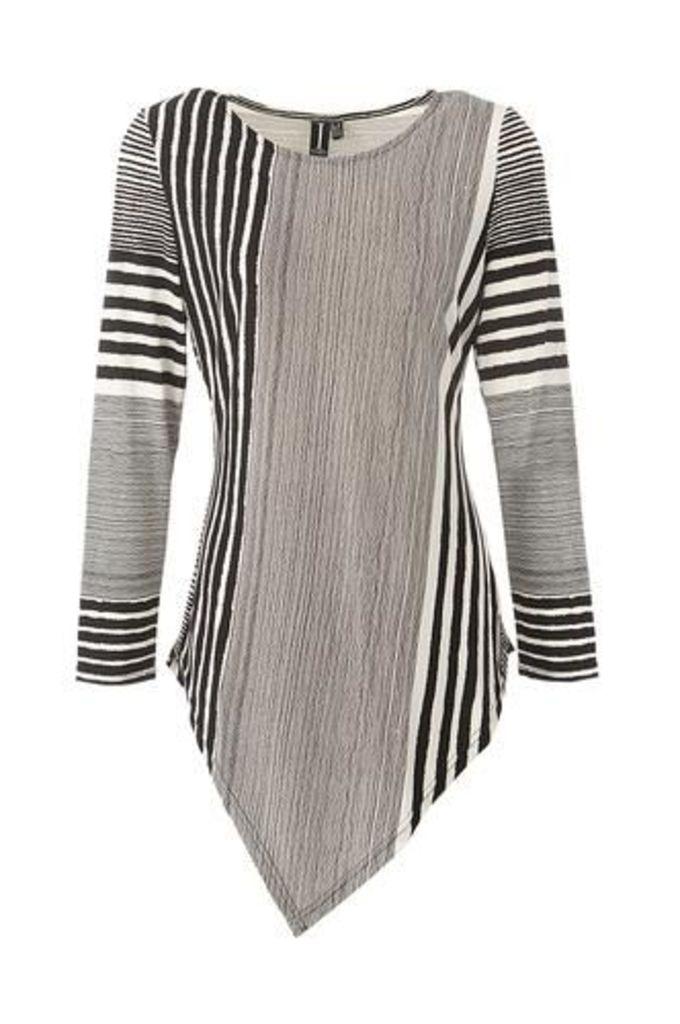 Stripe Asymmetric Top