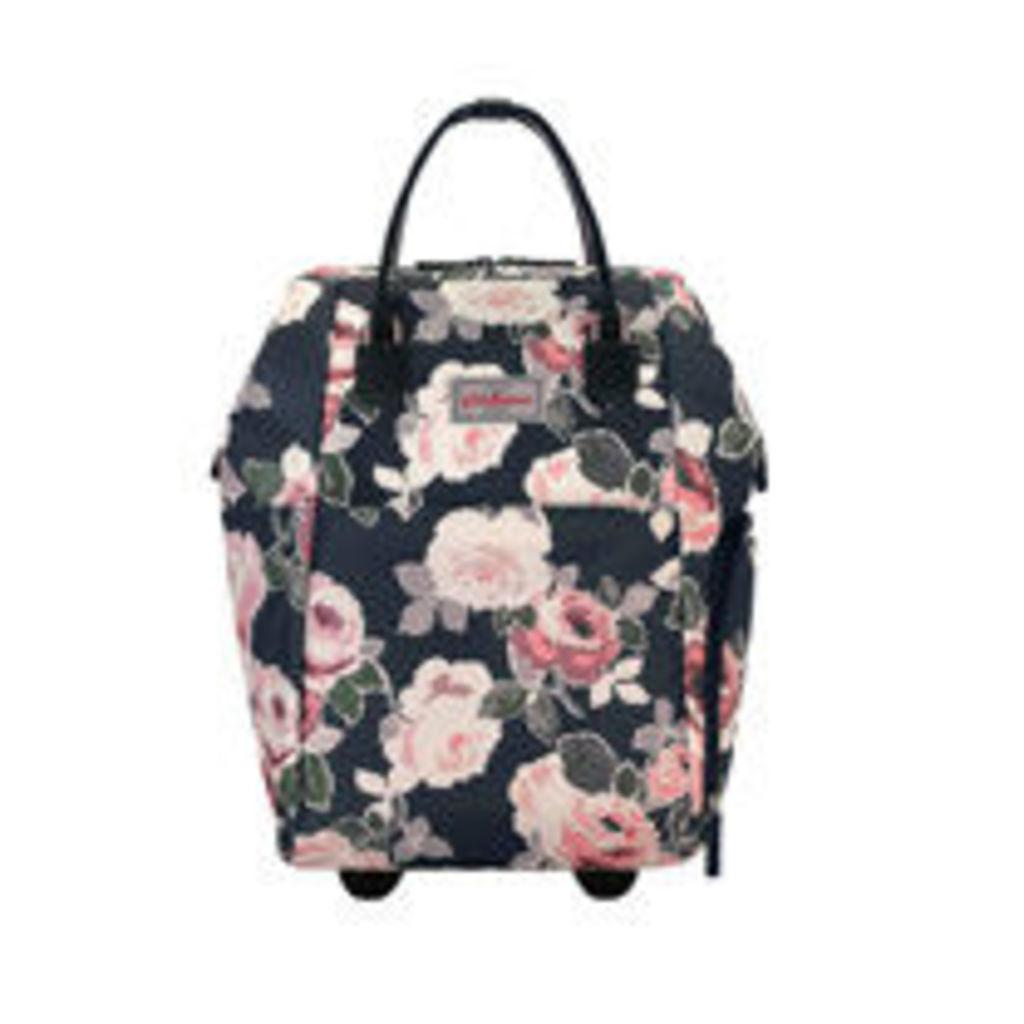 Paper Rose Frame Wheeled Backpack