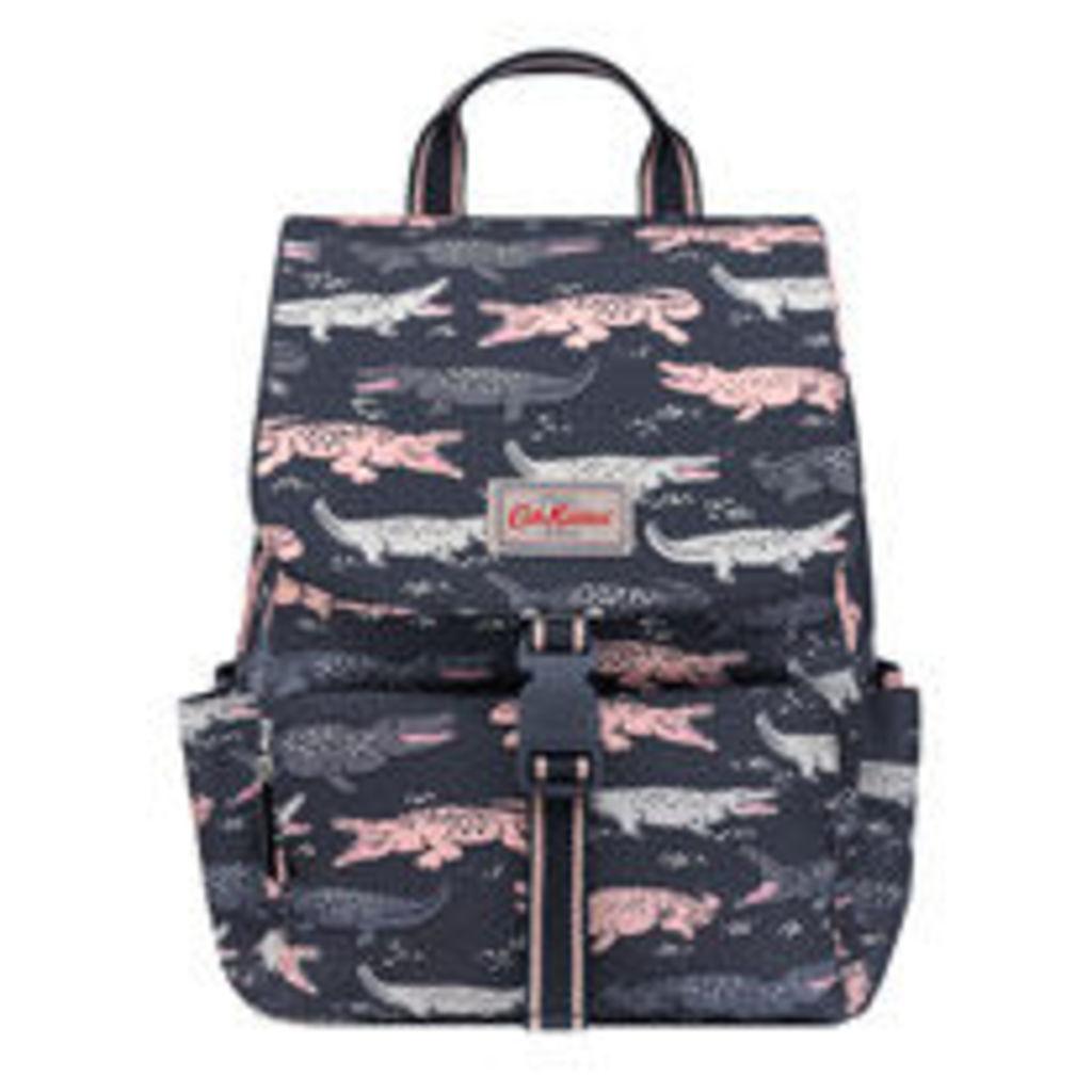 Crocodile Buckle Backpack