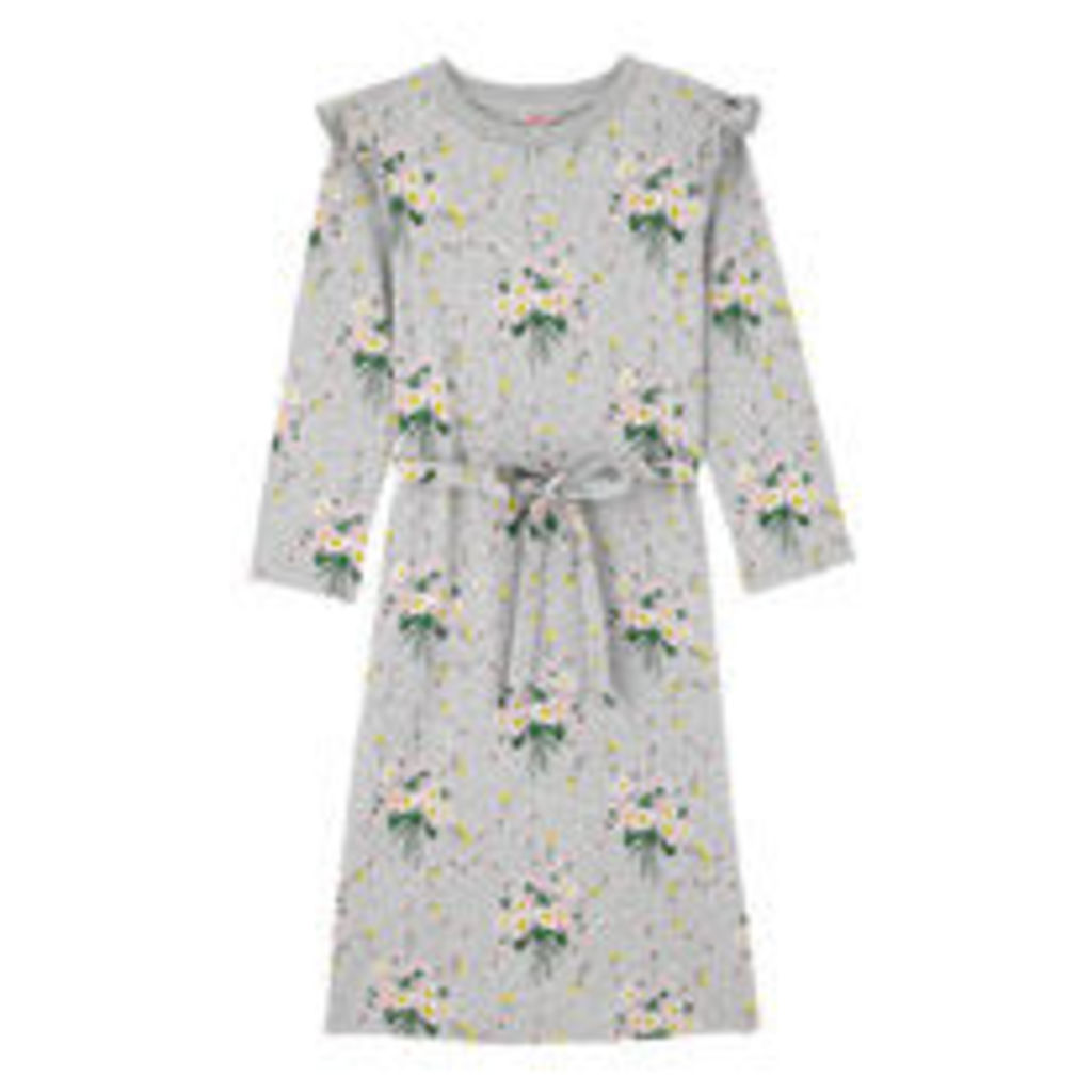 Daisies And Buttercups Cotton Jersey Sweat Dress