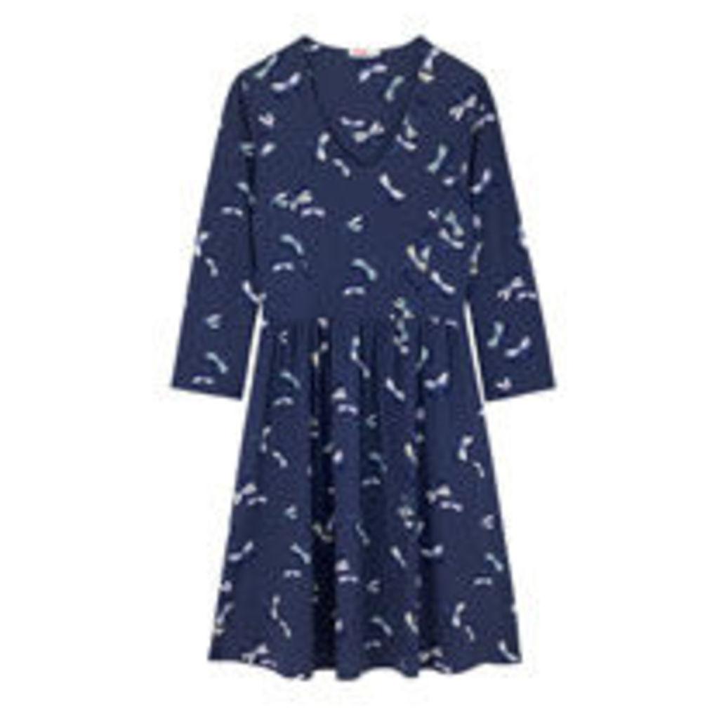 Dragonfly Dots Viscose Elastane Dress