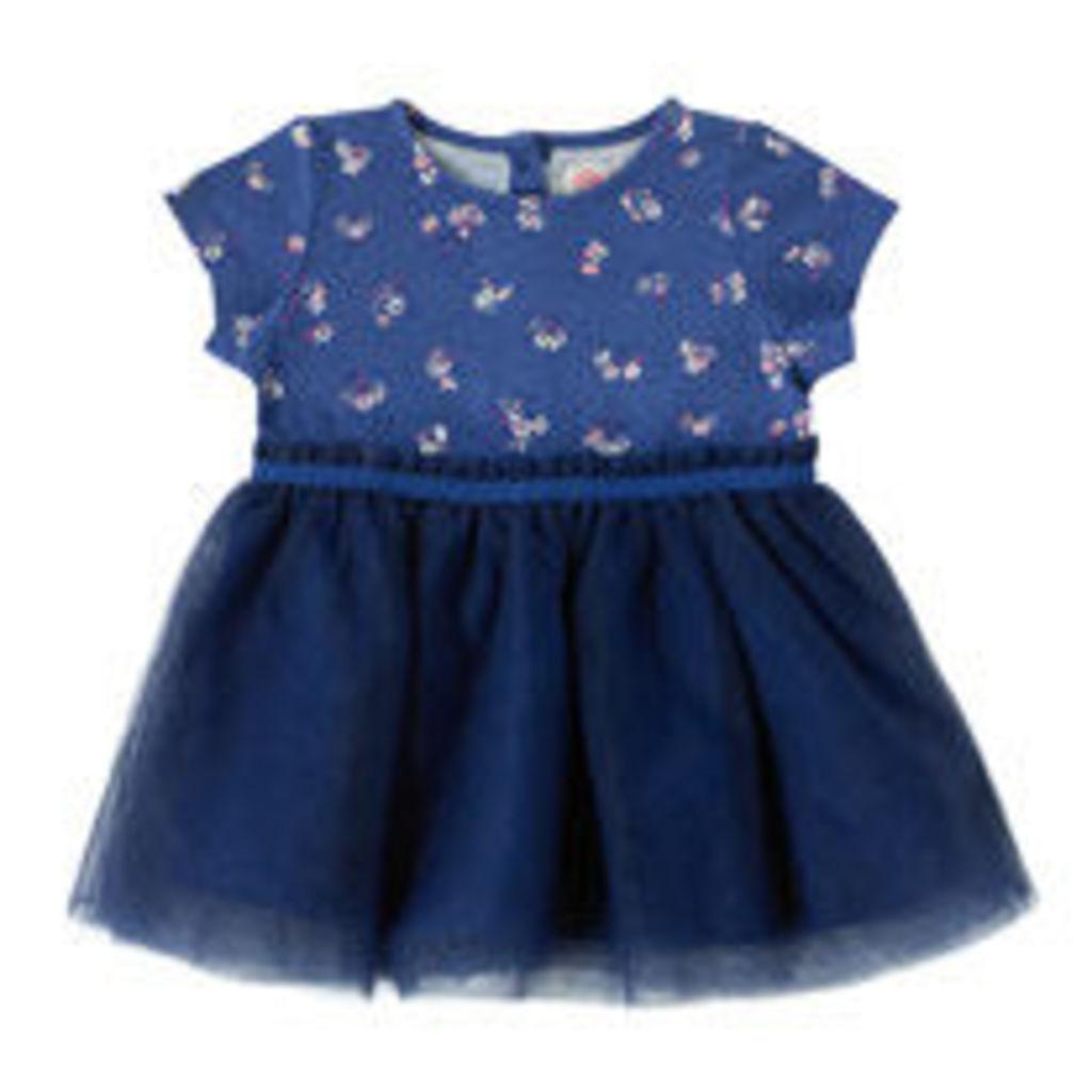 Woodstock Ditsy Baby Jersey Net Dress