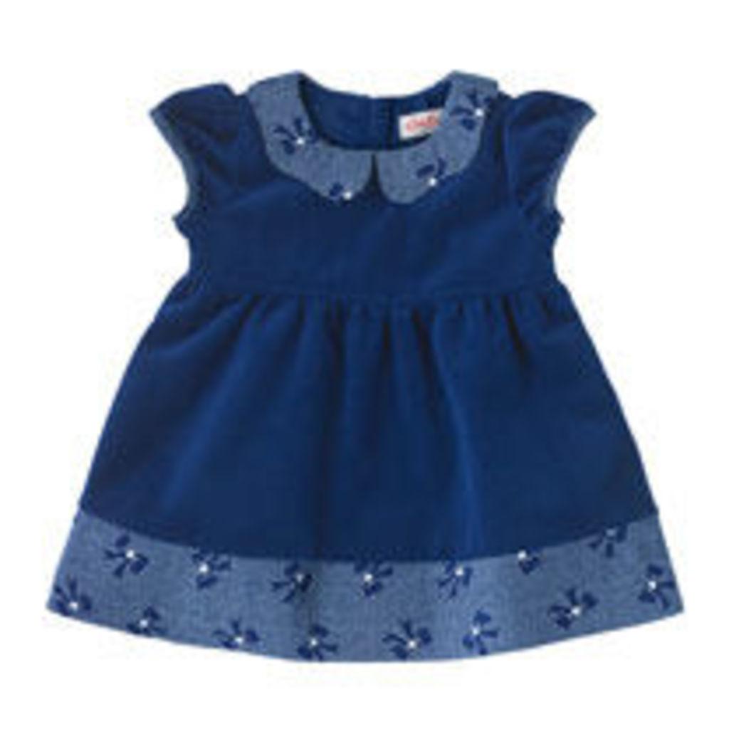 Baby Velvet Collar Dress